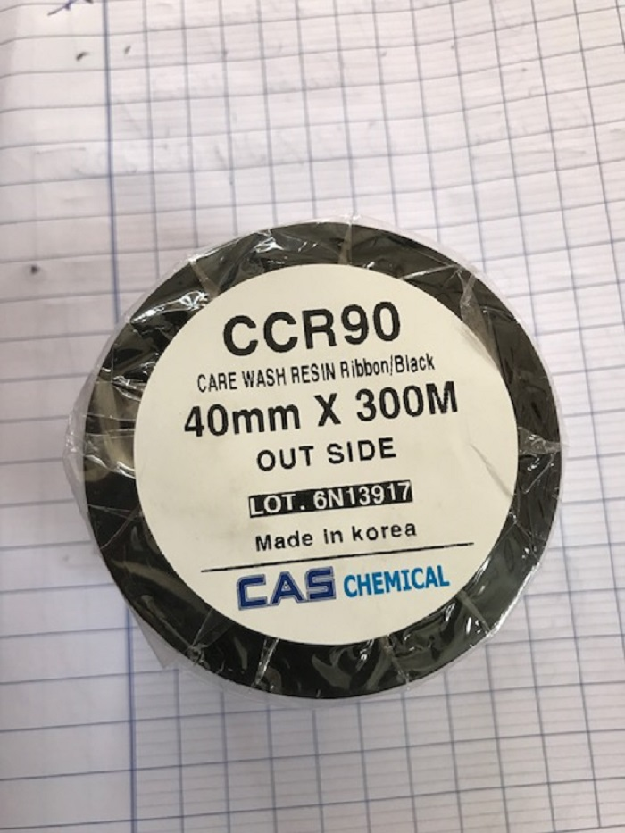 Wash Care Resin CCR90 Cas Ribbon